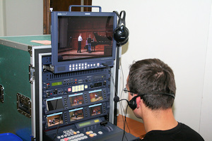 Mobile video recording studio